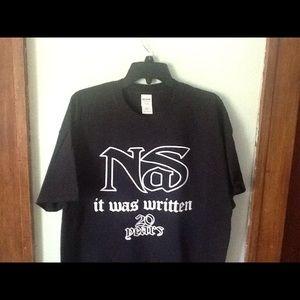 Nas It Was Written 20 Years T-shirt